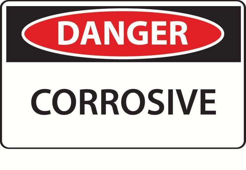 Danger Corrosive ACM