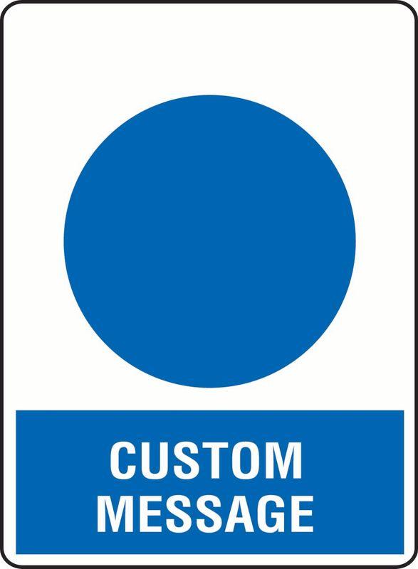 Custom Message Sticker