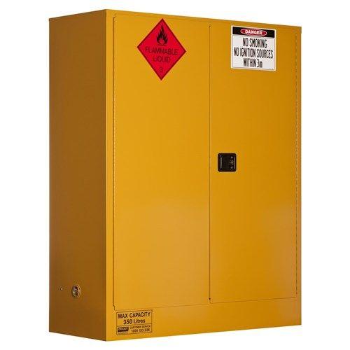 Flammable Storage Cabinet 350L 2 Door, 3 Shelf  250L Class 3 Flammable Liquid