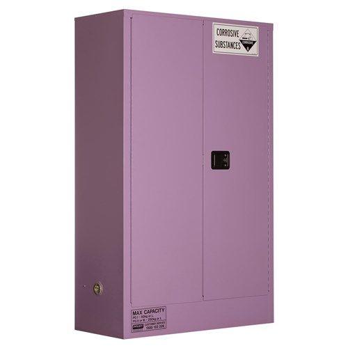 Corrosive Storage Cabinet 250L 2 Door, 3 Shelf Class 8 Corrosive Metal