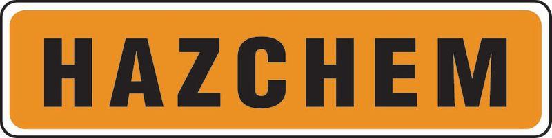 Hazchem Sticker