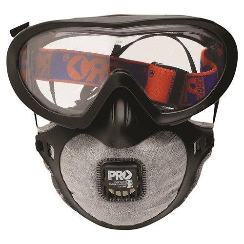 Pro Choice Filterspec Pro Goggle/Mask Combo P2 + Valve + Carbon