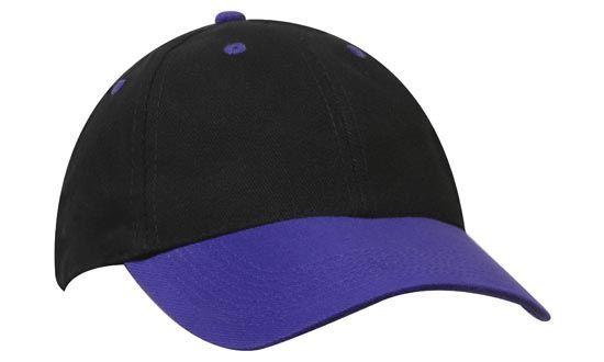 Headwear 6 Panel Brushed Cotton Cap