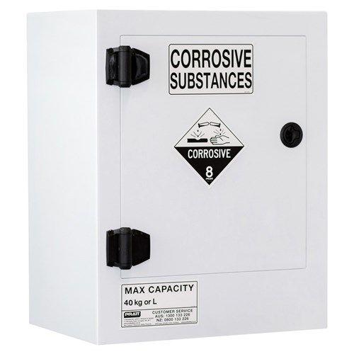 Poly Corrosive Cabinet 40L 1 Door 1 Shelf Class 8