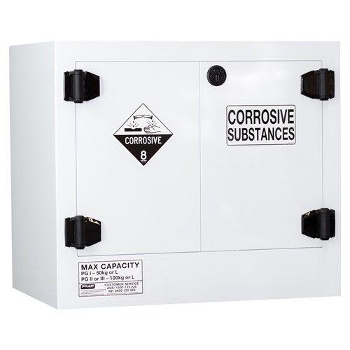 Poly Corrosive Cabinet 100L 2 Door, 1 Shelf Class 8