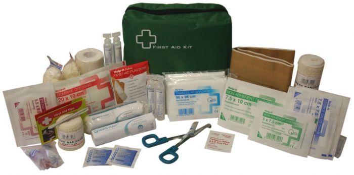 Help-It Car/Lone Worker First Aid Kit Plastic Box