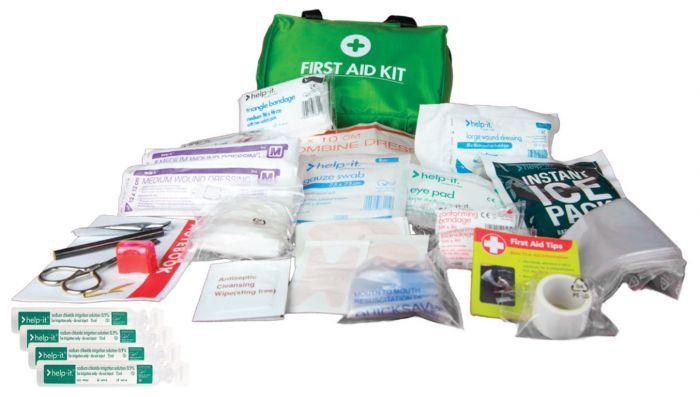 Help-It First Aid Kit Soft - 60 Piece
