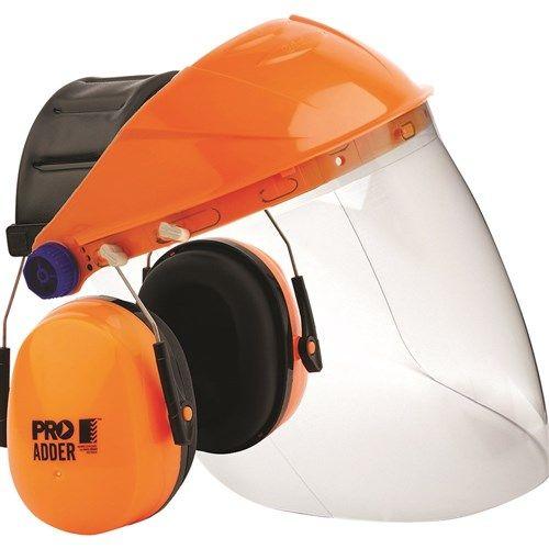 Pro Choice Browguard, Clear Visor & Adder Earmuff Combo