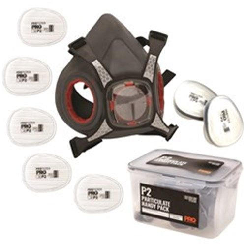 Pro Choice Half Face Respirator Maxi Mask 2000 Particulate Handy Pack