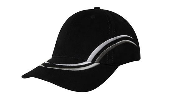 Headwear Brushed Heavy Cotton Cap - Embroidered Crown and Peak