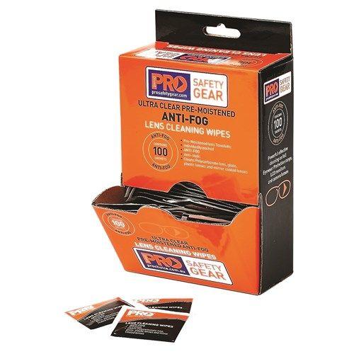 Pro Choice Anti-Fog Lens Wipes 100 Pack