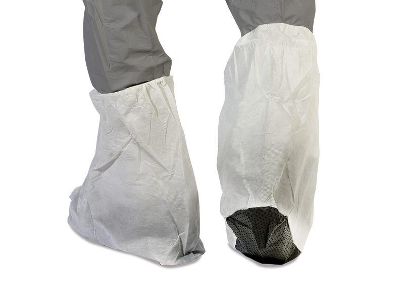 Esko Titan Polypropylene Boot Cover With Non-Slip PVC Sole And PVC Grip Dots