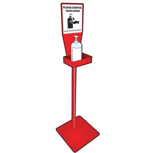 Mediq Free-Standing Hand Sanitiser Hygiene Station