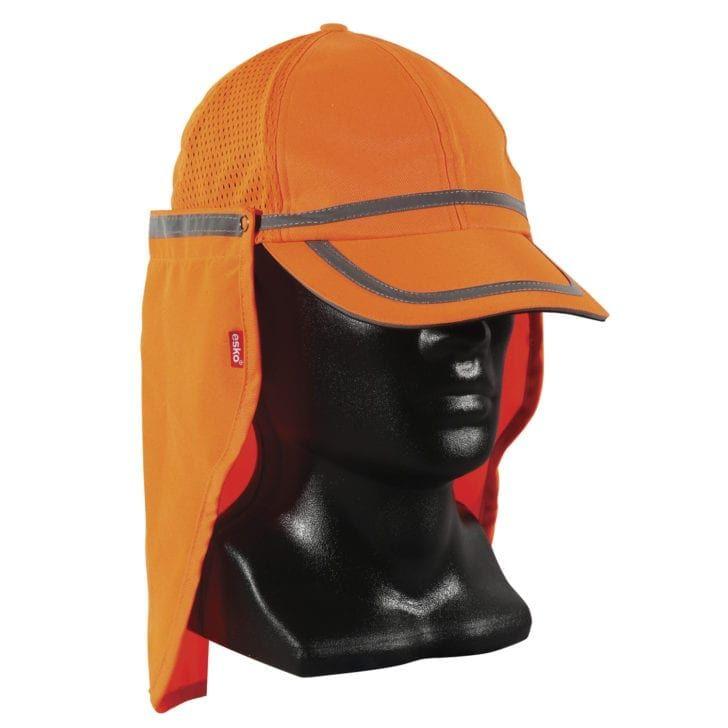 Esko Good2Glow Hi-Vis Baseball Cap With Neck Flap Orange