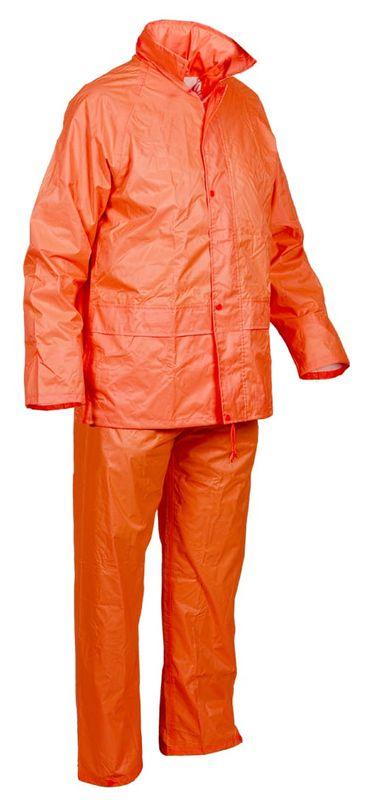 Esko Good2Glow Rainsuit Jacket And Pant Set Neon Orange