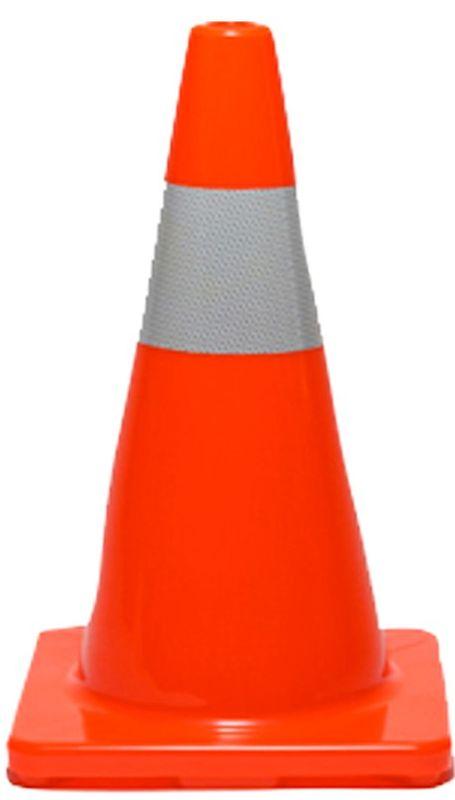 Esko PVC Reflectorised Cone Orange 450mm