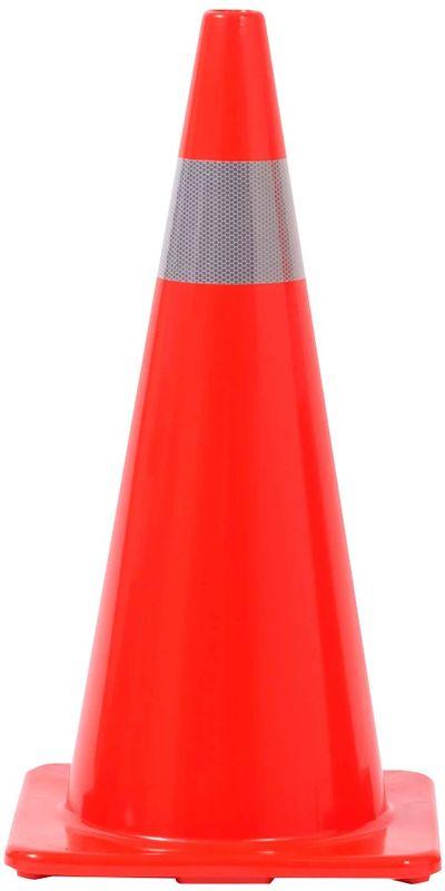 Esko PVC Reflectorised Cone Orange 700mm