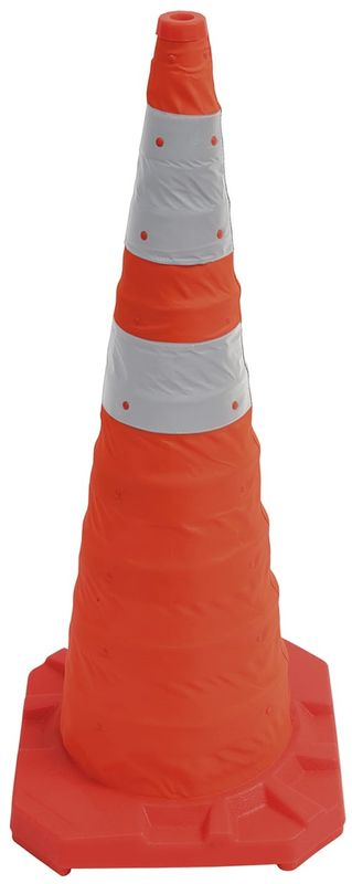 Esko Reflectorised Collapsible Cone Complete With Carry Bag 900mm