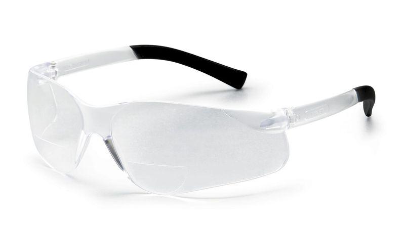 Esko Magspec Bi-Focal Safety Spec Anti-Fog Magnification +1.0 Clear Lens