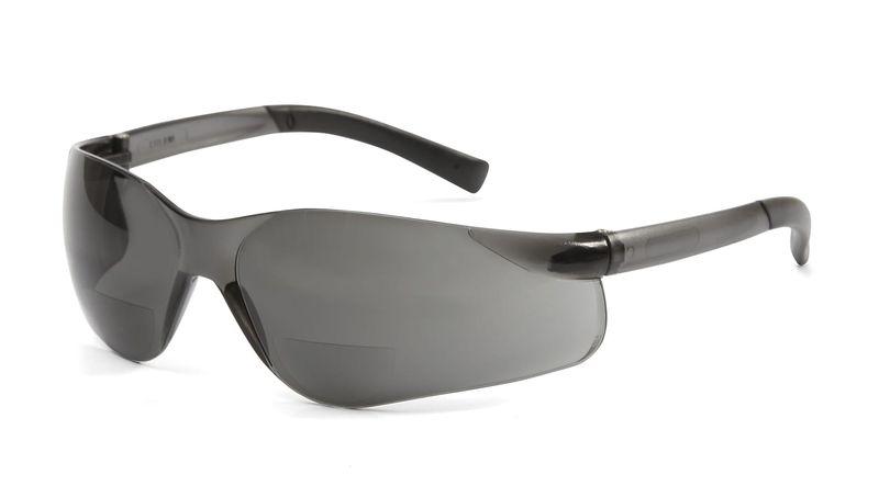 Esko Magspec Bi-Focal Safety Spec Anti-Fog Magnification +1.5 Smoke Lens