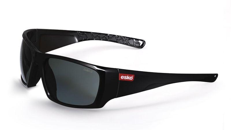 Esko Cuba Safety Glasses Gloss Black Frame