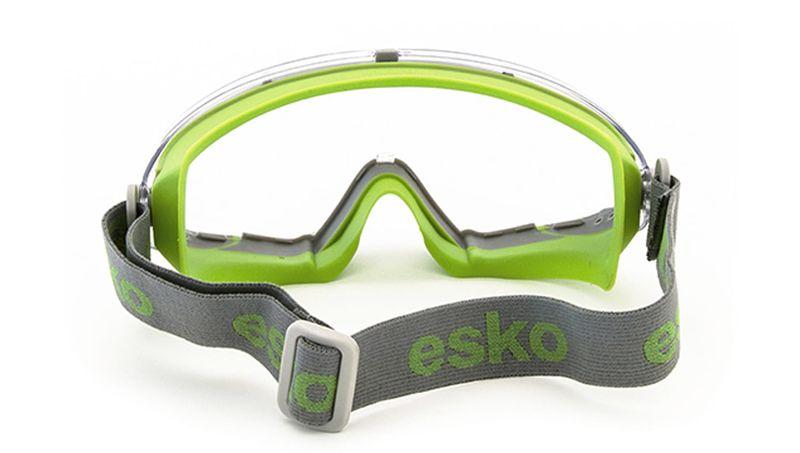 Esko GMAX Full Vision 180O Goggle Ventilated Anti-Fog/Anti-Scratch Clear Lens