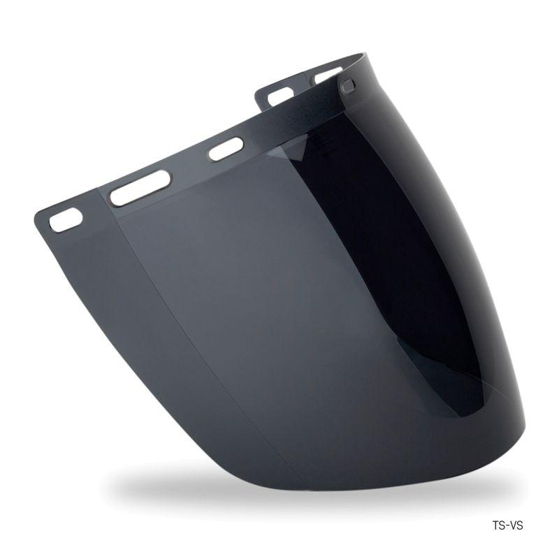 Esko Tuff-Shield Visor To Suit TS-BG Or HHBGE Anti-Fog Coated Smoke