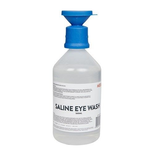 Mediq Eyewash Saline Solution 500ml