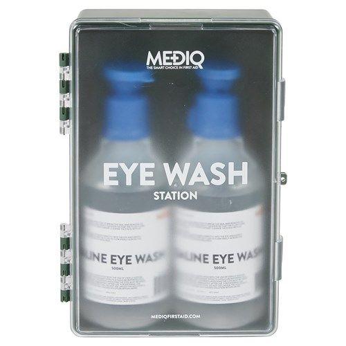 Mediq Eyewash Station Enclosed Plastic Cabinet