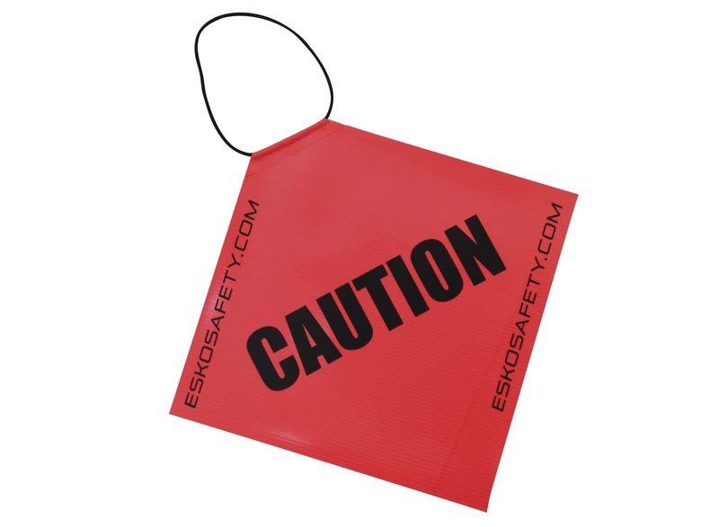 Esko Hi-Vis Caution Long Load Flag With Elastic Loop