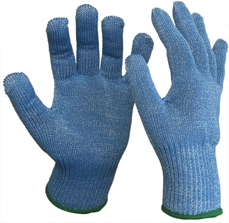 Armour Safety Blade Core Cut Resistant Level 5 Food Glove Blue