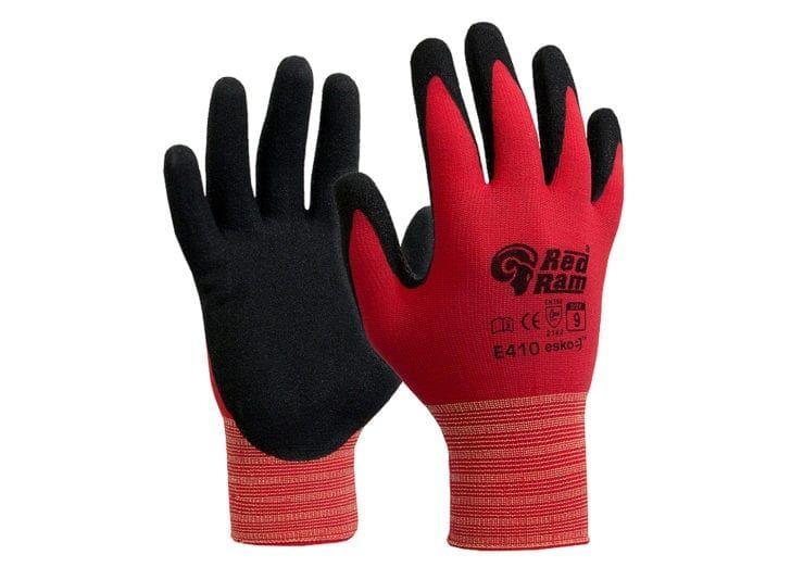 Esko Red Ram Sandy Latex Coating With Red Polyamide Liner Black