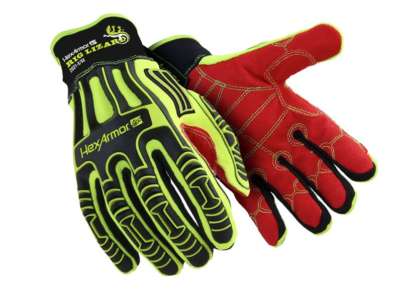 Esko Rig Lizard Gloves Cut Resistant Level 3 Impact Resistant With Superfabric