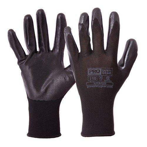 Prosafety Super-Flex Nitrile Dip Glove