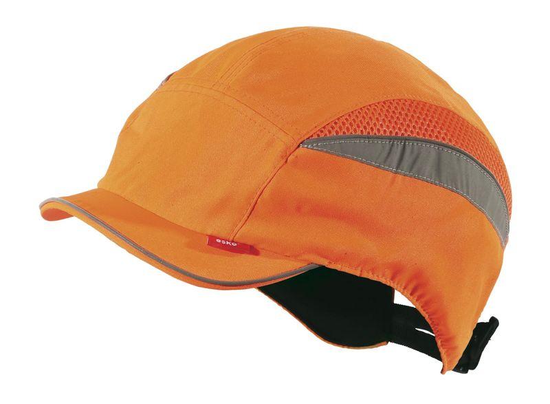Esko Anti-shock Bump Cap, Short Peak, EN 812 Certified Reflective Tape