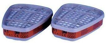 3M 6051 Organic Vapour Cartridge Filter for 6000 Series