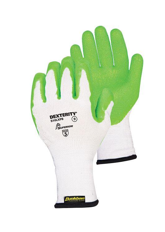 Armour Safety Superior Punkban Needlestick Resistant Crinkle Latex Glove