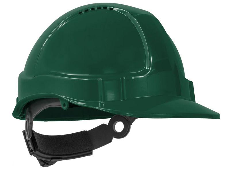 Esko Tuff Nut Hard Hat Short Peak Vented 6-Point Ratchet Harness