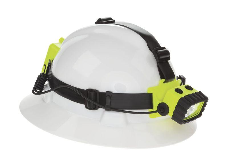 Esko Nightstick Intrinsically Safe Headlamp Dual Light 175 Lumens Hi Vis Yellow With High Contrast Green Light