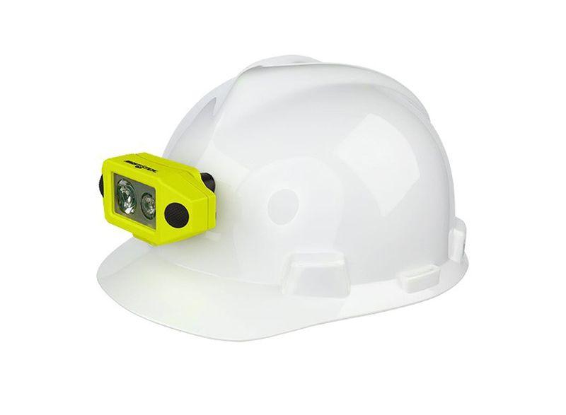 Esko Nightstick Intrinsically Safe Dual-Light Headlamp With Hard Hat Clip
