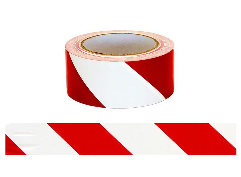 Esko Floor Aisle Marking Tape Red/White 50mm x 33m