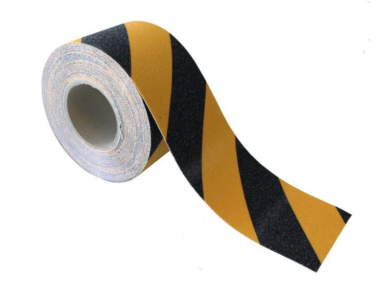 Esko Grit Tape Anti-Slip Tape Black/Yellow 100mm x 18m
