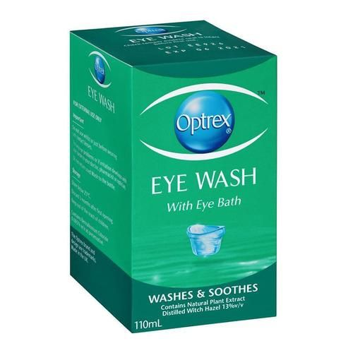 Optrex Eye Wash Complete With Eye Bath 110ml