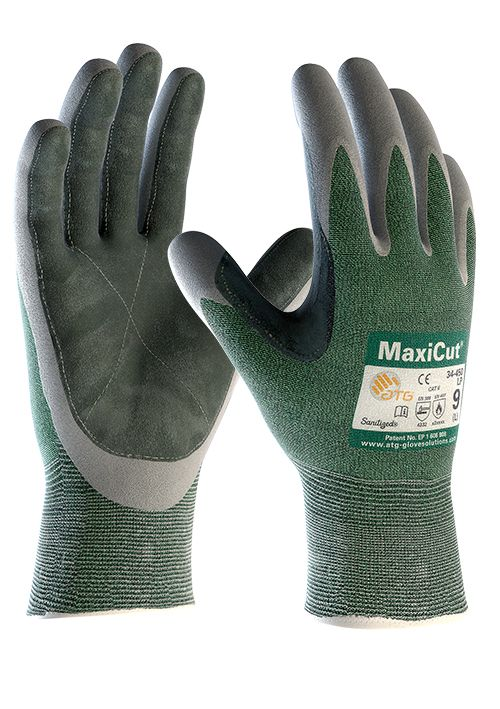 Armour Safety Maxicut Level 3 Leather Palm Open Back