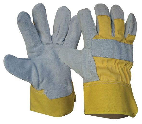 Armour Safety Leather Work Glove L