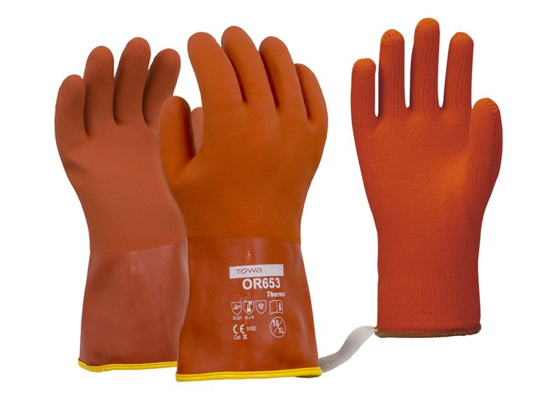 Esko Towa Glove 653 Thermo Soft Textured PVC With Removable Thermo Liner