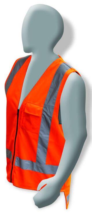 Armour Safety Hi Vis TTMC-W17 Day/Night Vest Orange