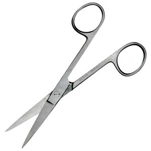 Livingstone Nurses Surgical Scissors 29 Grams Sharp/Sharp Straight Stainless Steel 13cm
