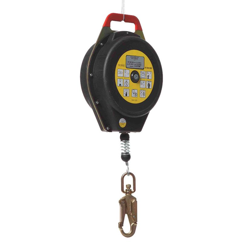 Zero Blocmax3 Heavy Duty Retractable Inertia Reel Galvanised Cable