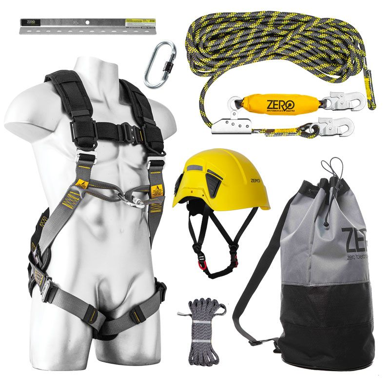 Zero Plus Roofer Pro Harness Kit